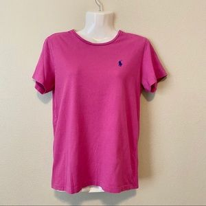 RALPH LAUREN Purple T-Shirt